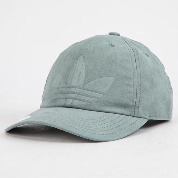 da1a40895 Adidas Originals Relaxed Deboss Strapback Hat NWT